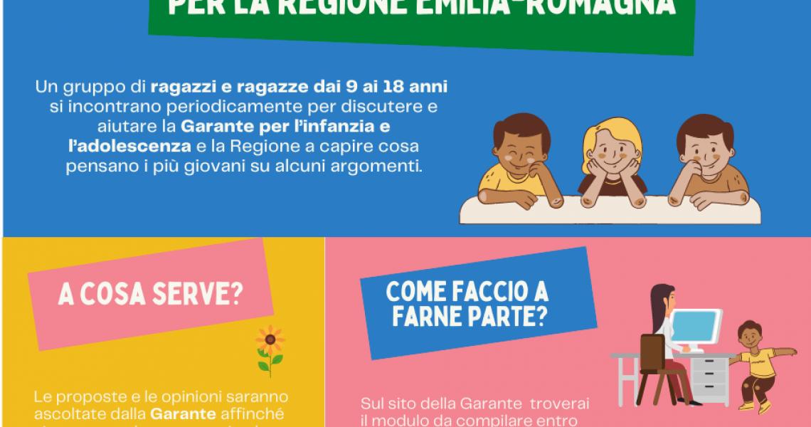 Nasce l'Assemblea dei ragazzi e delle ragazze per la Regione Emilia-Romagna