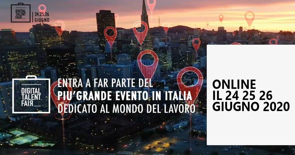 Digital Talent Fair: fiera digitale dedicata all'orientamento e al lavoro