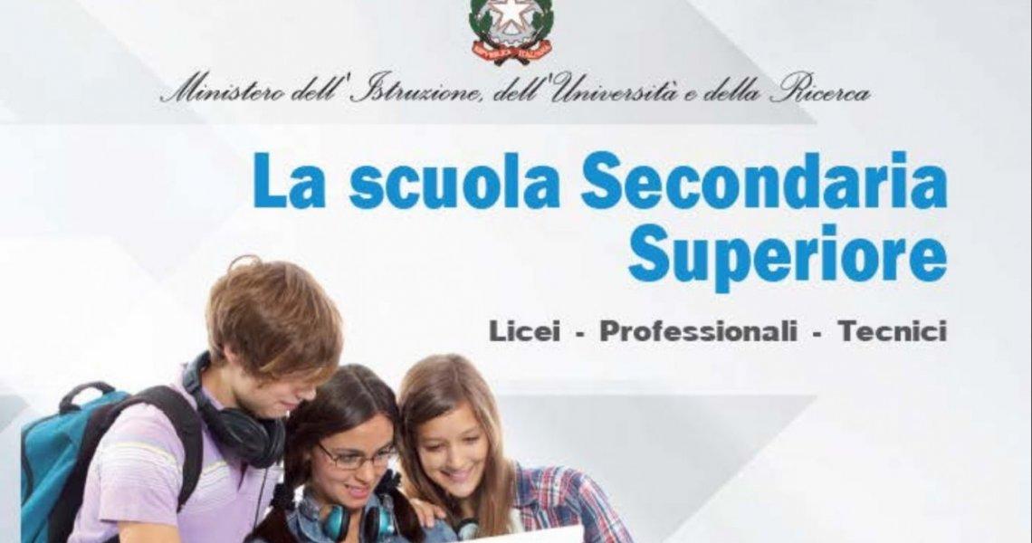 Pubblicata dal Ministero la Guida delle scuole superiori aggiornata