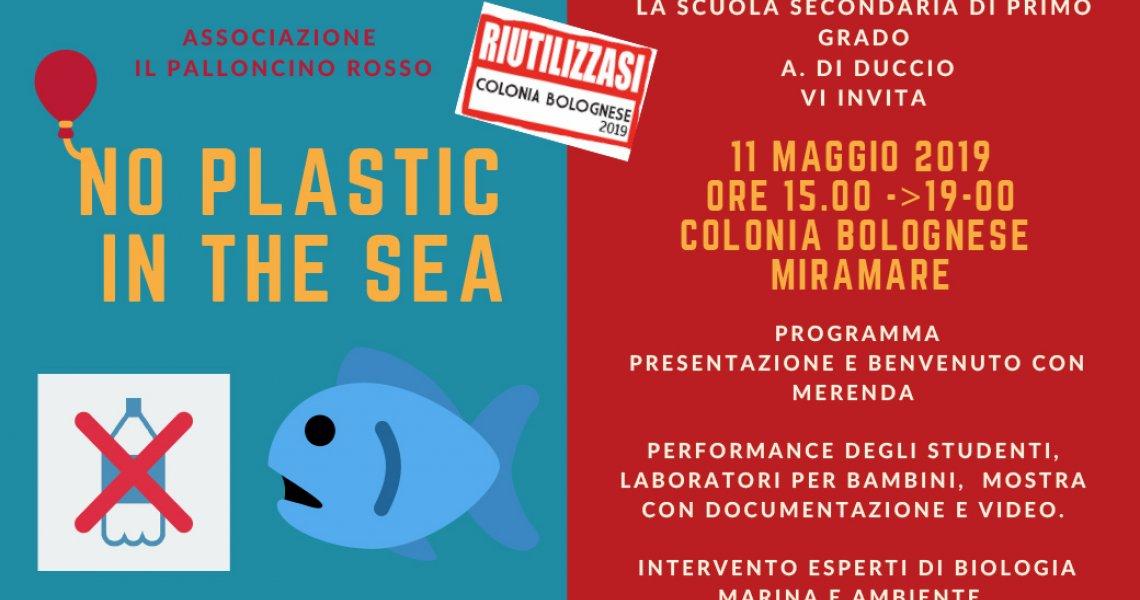 NO PLASTIC IN THE SEA