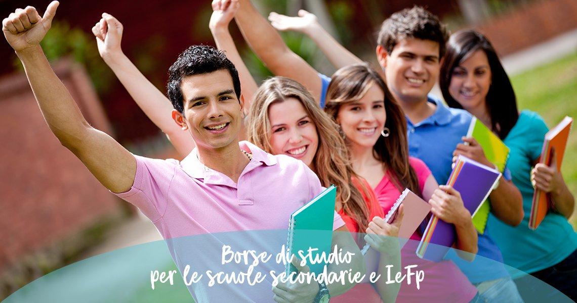 Diritto allo studio per le scuole secondarie e IeFp