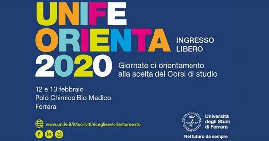 UnifeORIENTA - Giornate dell'Orientamento 2020