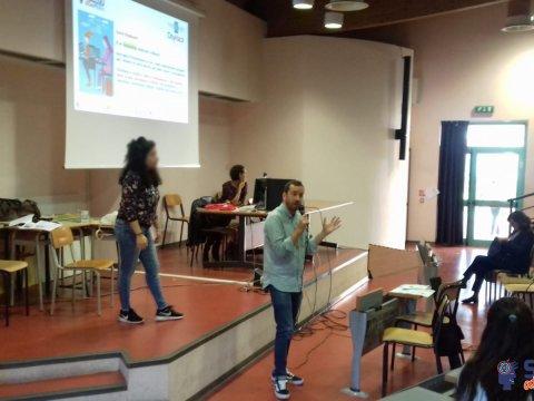 4 ottobre - Presentazione dell'Hackathon agli studenti dell'Einstein e del Serpieri