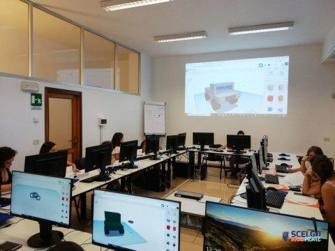 Laboratorio STEAM: modellazione 3D