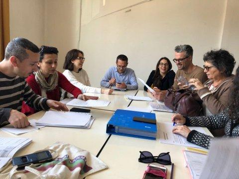 ll tavolo di coordinamento dei 10 enti si incontra per progettare gli interventi