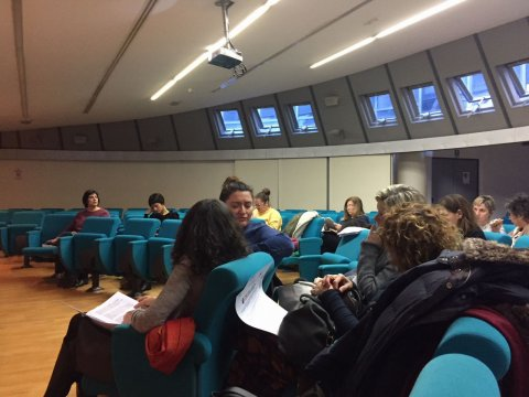 Seminari informativi di lancio del progetto; presenti la scuole e le istituzioni